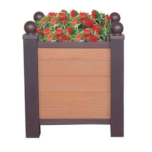 Customize WPC Planter for Outdoor Garden Decoration