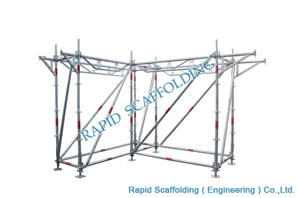 Working Platform Steel Tower Ringlock Scaffolding