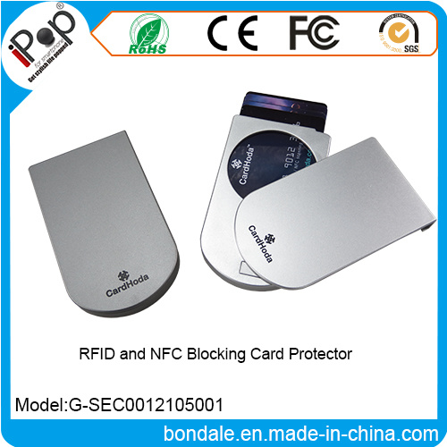 New Plastic Card Holder RFID and NFC Blocking Card Protector