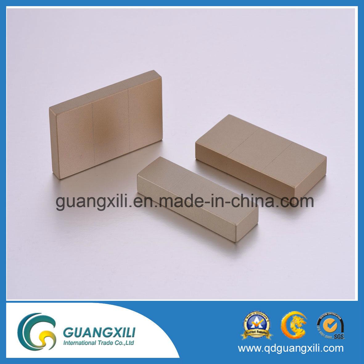 N35 N38 N40 NdFeB Permanent Magnet with Nickel Plating
