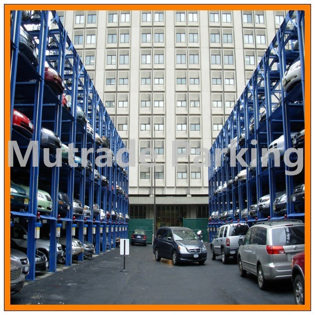 China Automated Hydraulic Car Storage Parking Lift Stacking System