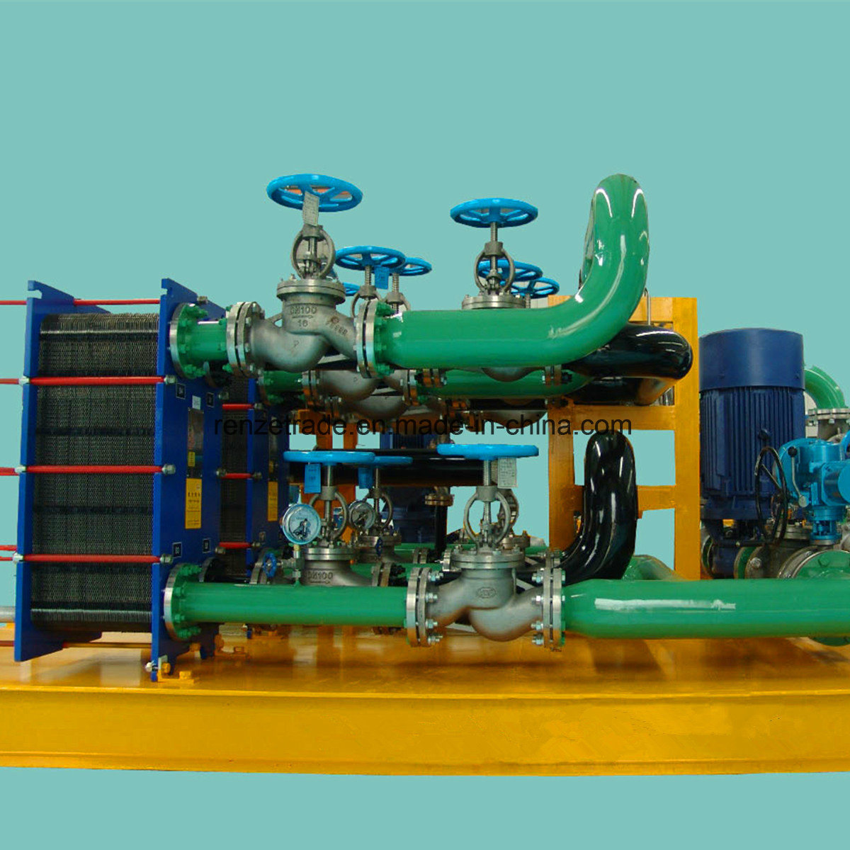 Steel Industry, Paper Making Industry Gasketed Plate Heat Exchanger Replacement for Alfa Laval
