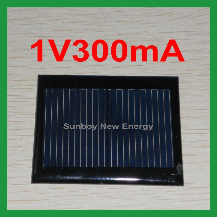 China 1v 300ma Small Size Solar Panel China Small Size