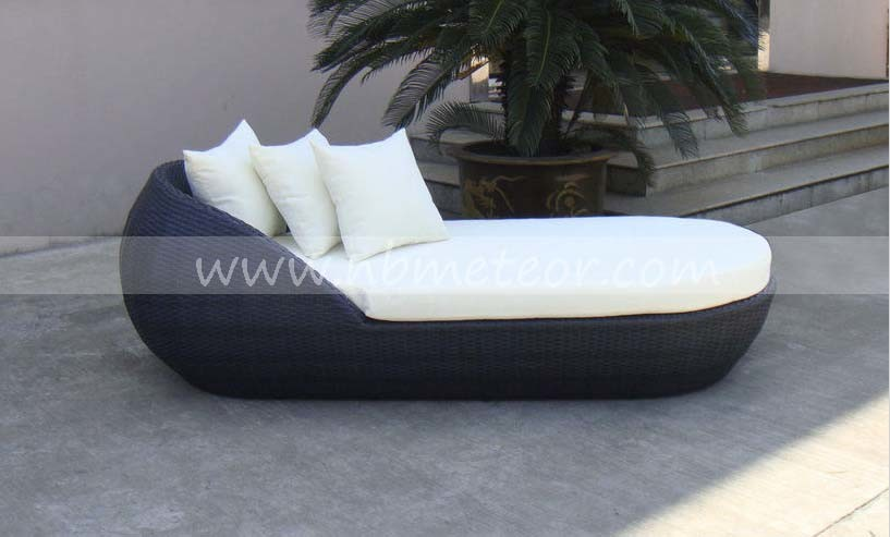 Rattan Outdoor Garden Sofa Wicker Furniture Patio Daybed