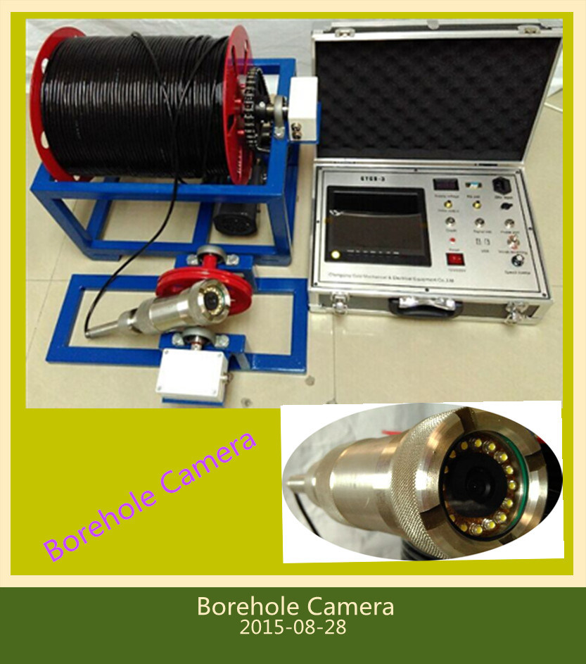 Borehole Remediation and CCTV Survey Camera, Borewell Camera, Water Well Camera