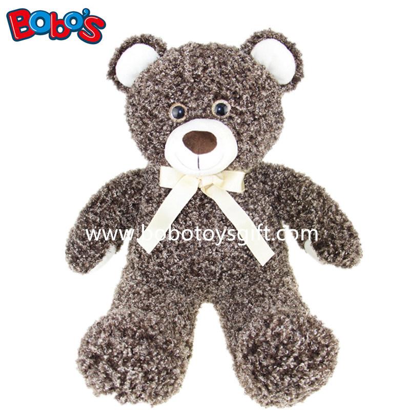 Newest Design Plush Shine Eye Teddy Bear Toy for Promotion