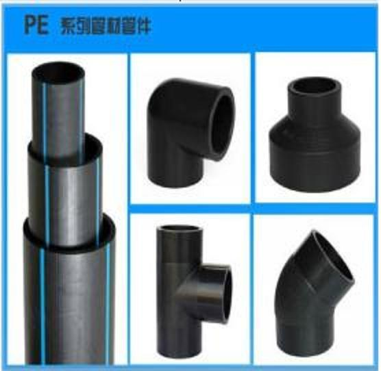Straight PE/Steel Transition Connector Pipe Fitting