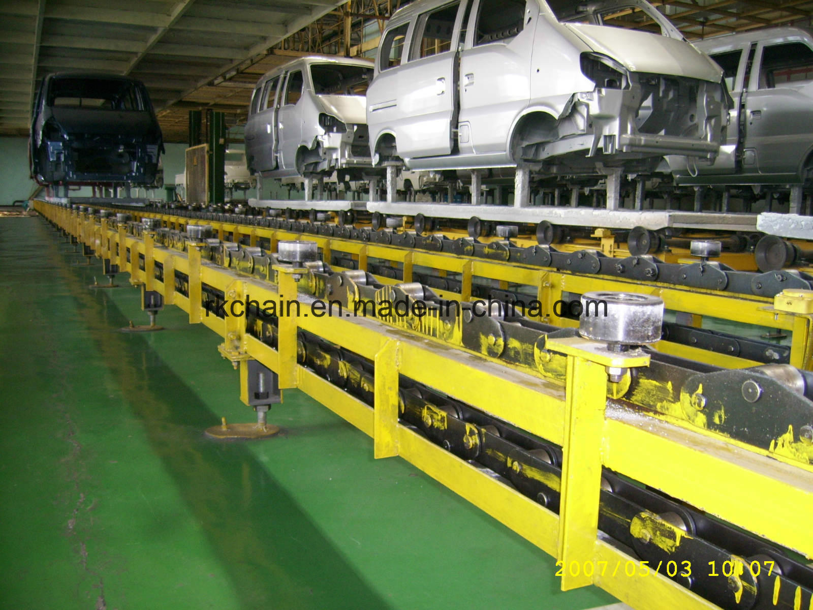 Conveyor Chain of Transmission System for Car Assembly Industries