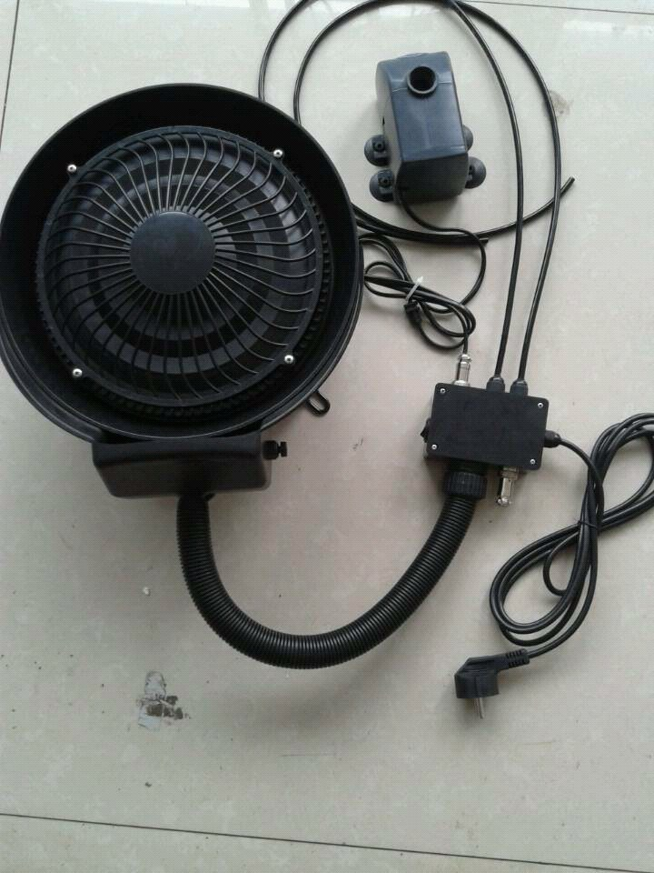 Independent Centrifugal Misting Kit Mist Fan