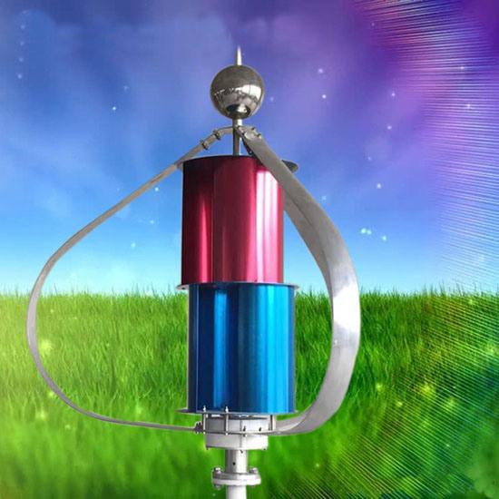 200W 12V 24V Windmill for Wind Solar Hybrid System