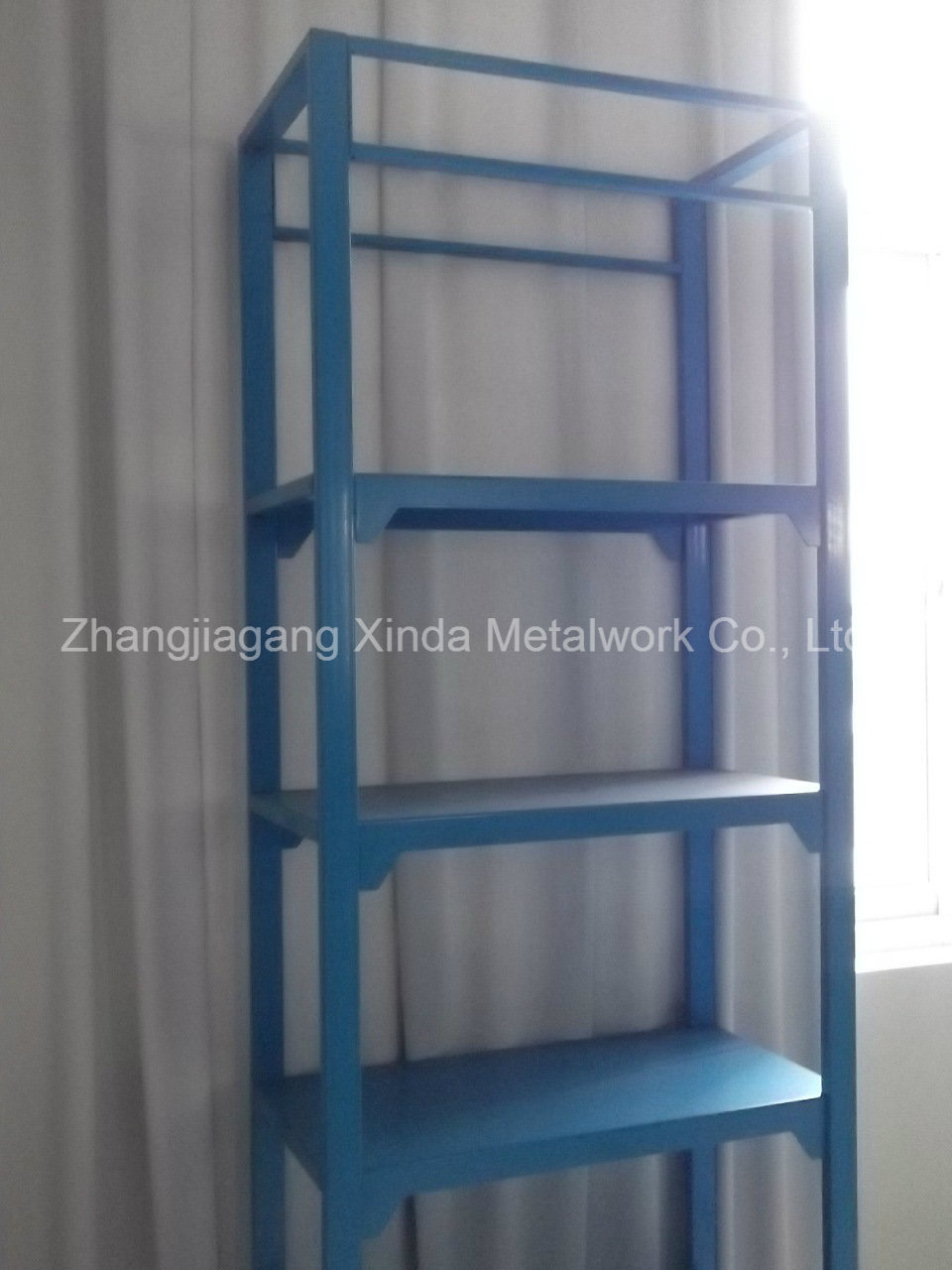Gondola Metal Storage Display with Shelves