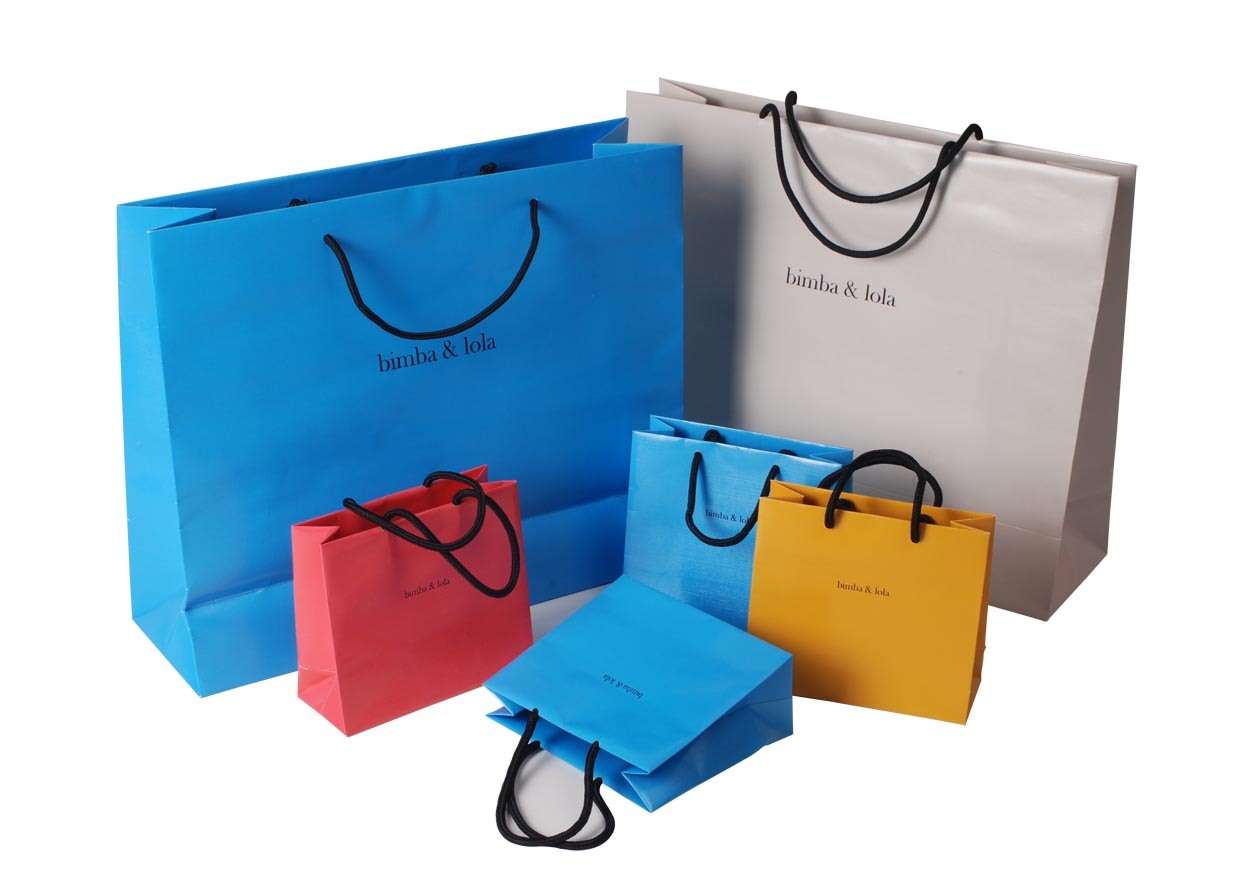 China Luxury Paper Bag