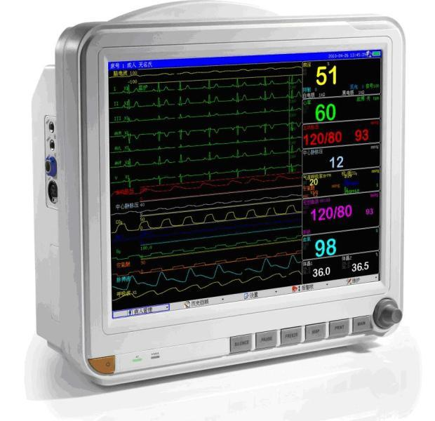15 Inch Patient Monitor ECG Monitor Cardiac Monitor (OW-8000D)