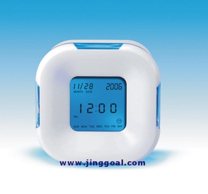 LCD Alarm Clock (JE571)