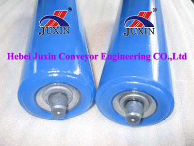 Steel Conveyor Roller/Trough Idler for Cement Coal Port Industry