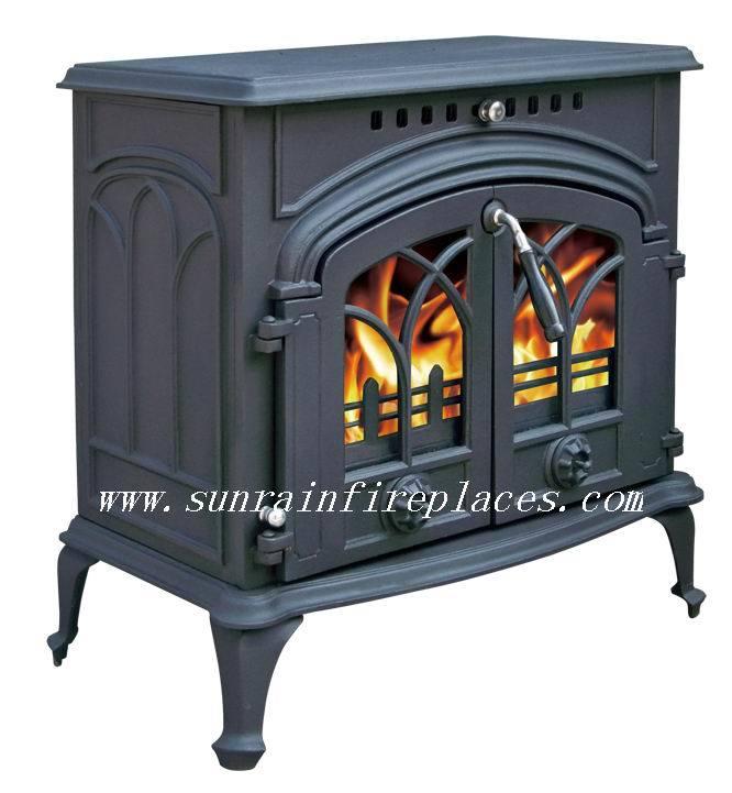 China Wood Burning Cast Iron StovesJA050
