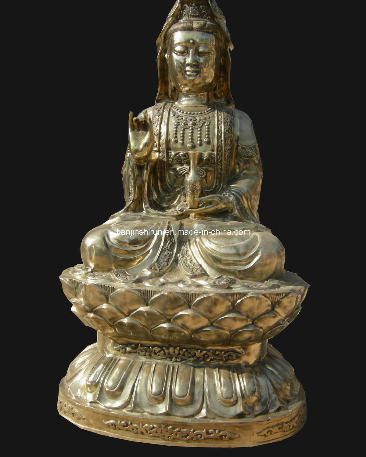 Bronze Kwanyin Statue Sculpture (SL006)