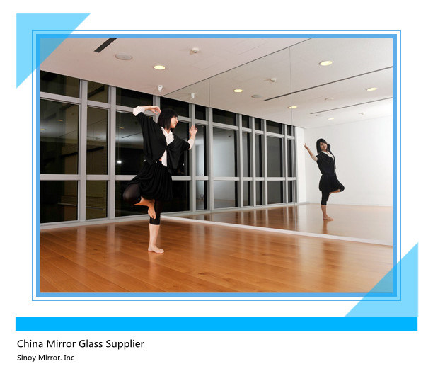 Qingdao 4mm Top Quality Water-Proof Float Glass Mirror Silver Mirror Glass Sheet
