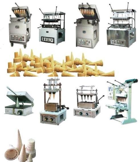 Ice cream wafer machines