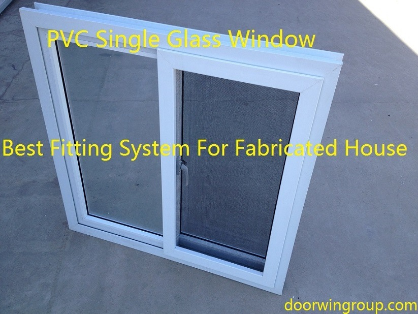 UPVC Sliding Windows for Fabricated House