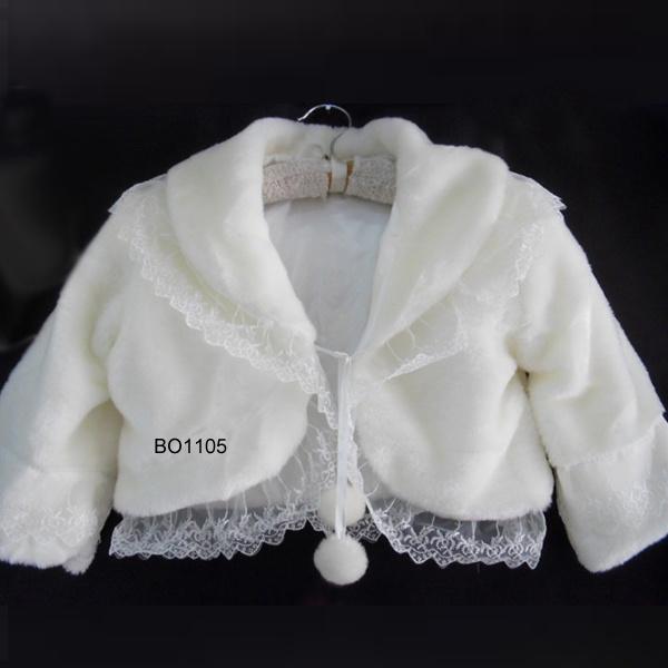 China charming bridal wedding fur bolero wedding dress for Fur shrug for wedding dress