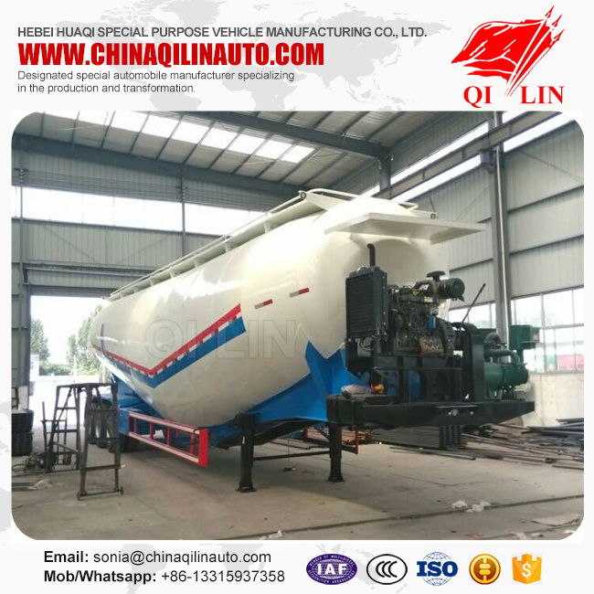 Powder Tank Truck Trailer for Cement Transportation