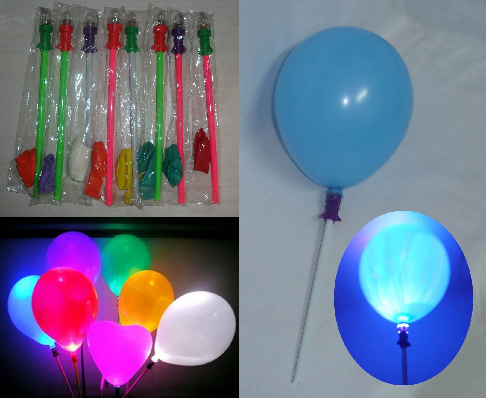 restaurant reservation led balloons. Black Bedroom Furniture Sets. Home Design Ideas