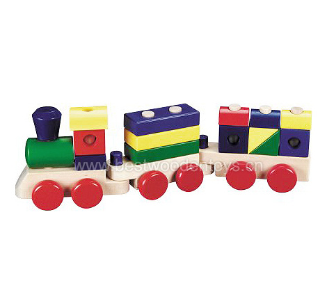 China Wooden Toy Trains (BT1905) - China Wooden Trains, Wooden Train