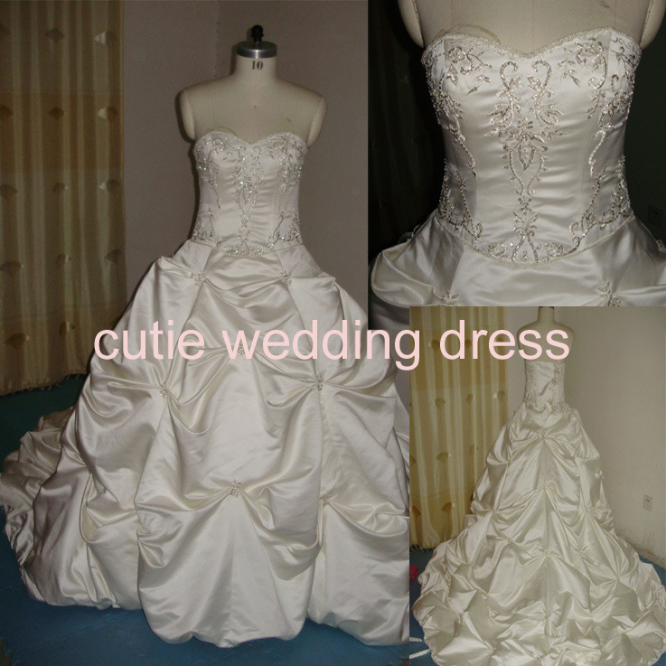 wedding dresses used samples 84