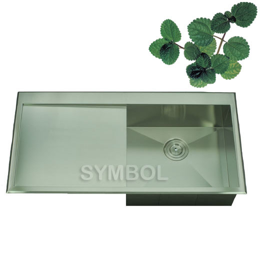 China kitchen sinks with drain board ss ss 10051b china kitchen sinks kitchen sink with - Kitchen sink draining board ...
