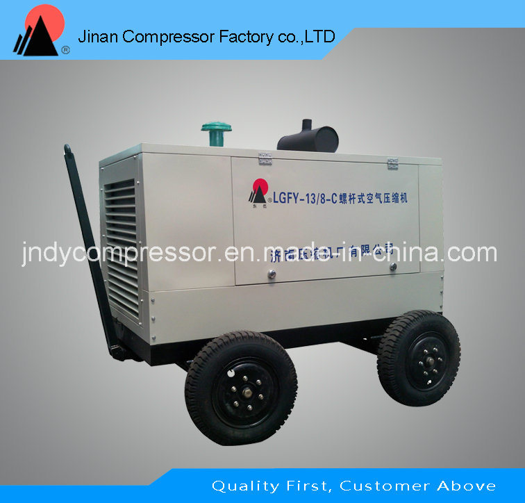 Portable Screw Type Air Compressor