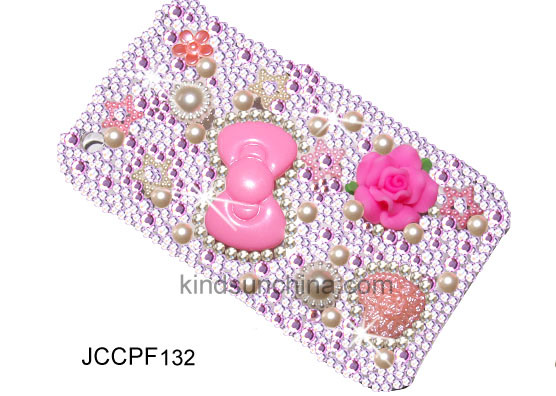 JEWELED CELL PHONE CASE JCCPF134