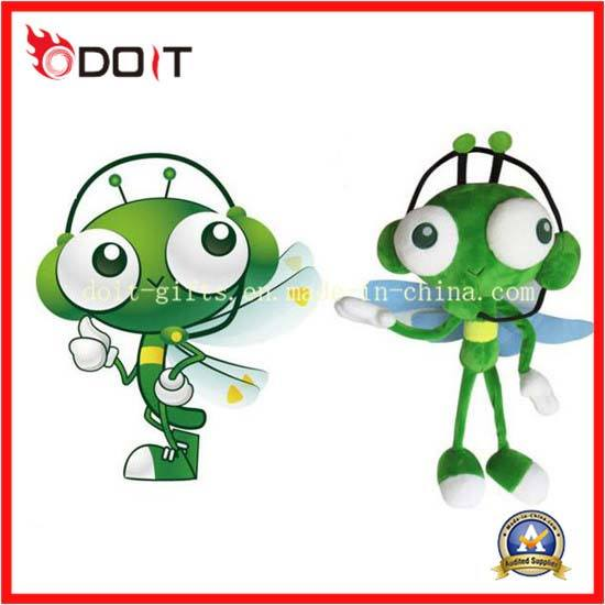 Custom Made Stuffed Animal Mosquito Plush Toy for Promotion