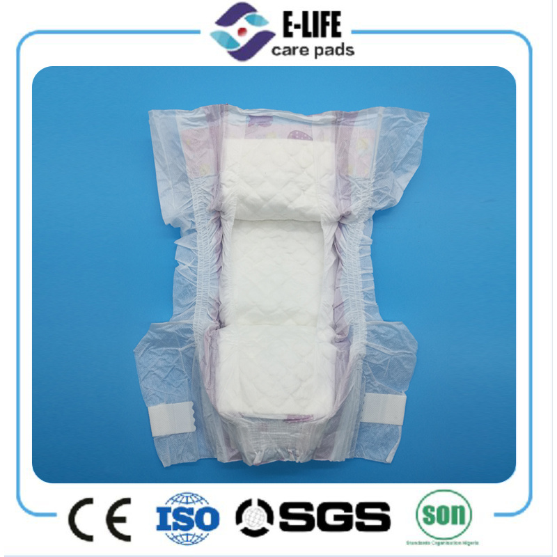 Blue Core Soft Magic Tape Baby Diaper with Competitive Price