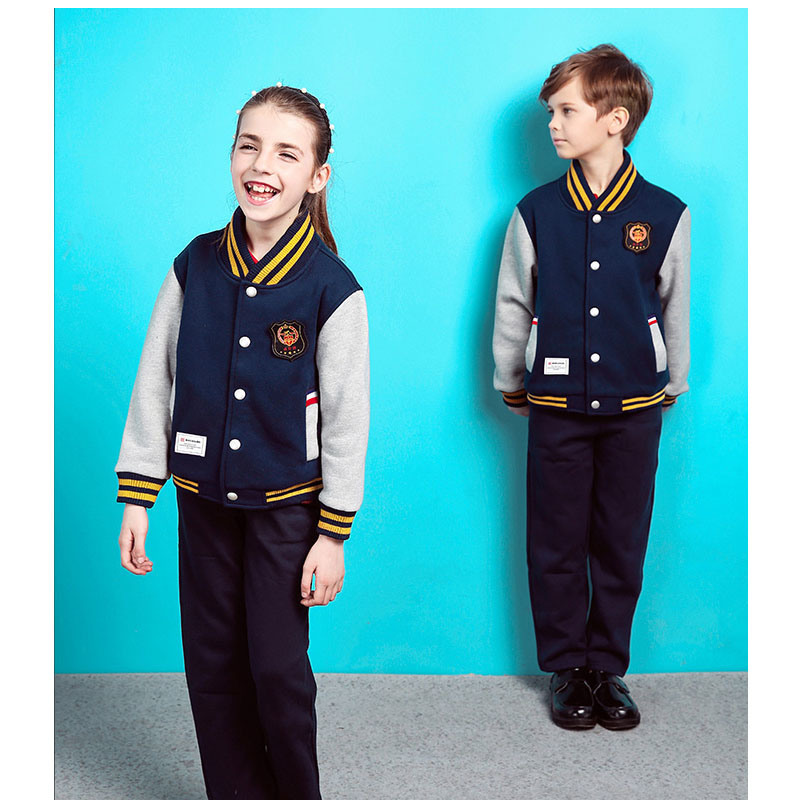 Custom Primary School Uniform Designs for School Track Suits
