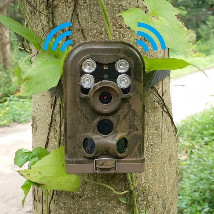 12MP Night Vision Wireless MMS HD Hunting Trail Digital Cameras