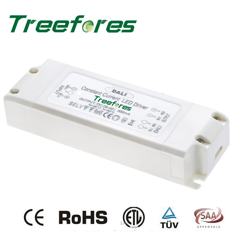 Dimming Power Supply 30W DC 12V 24V Dali Dimmable LED Driver