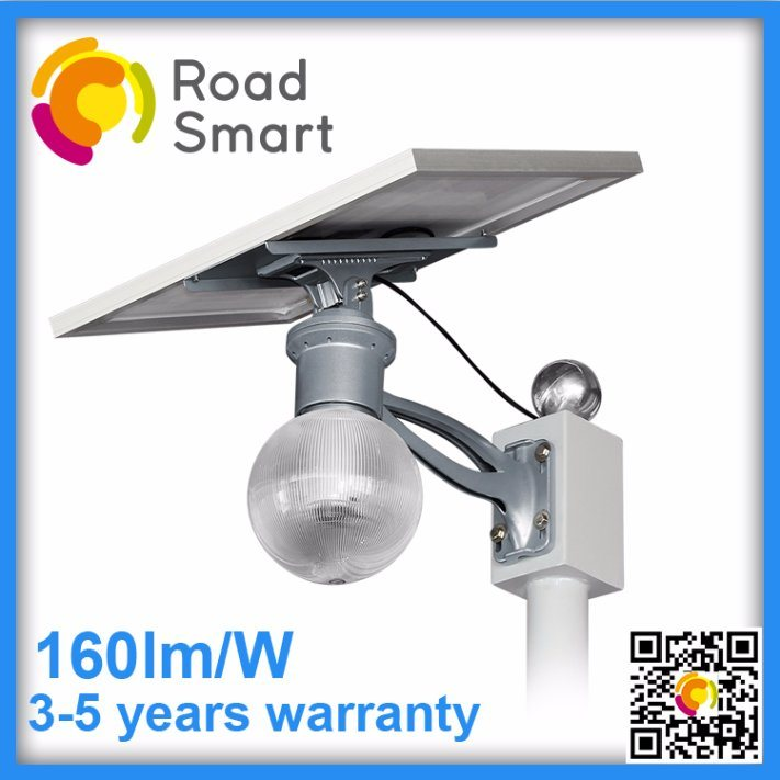 Solar LED Street Light 12W with Adjustable Panel