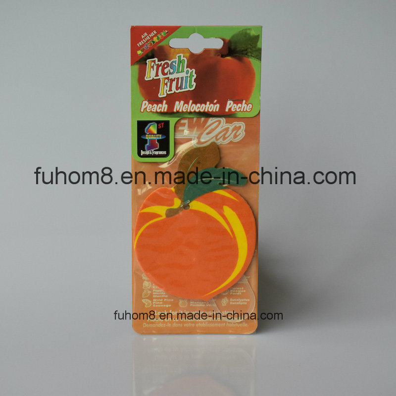 Customized High Quality Hanging Paper Air Freshener, Car Perfume