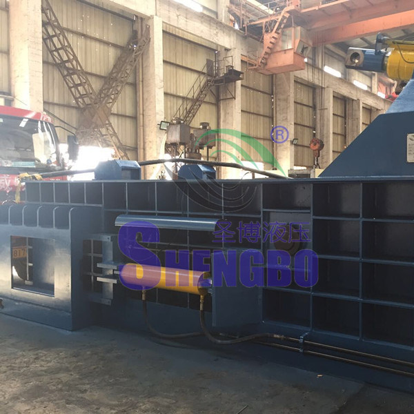 Y81t-4000 Automatic Waste Metal Steel Baling Machine (push-out type)