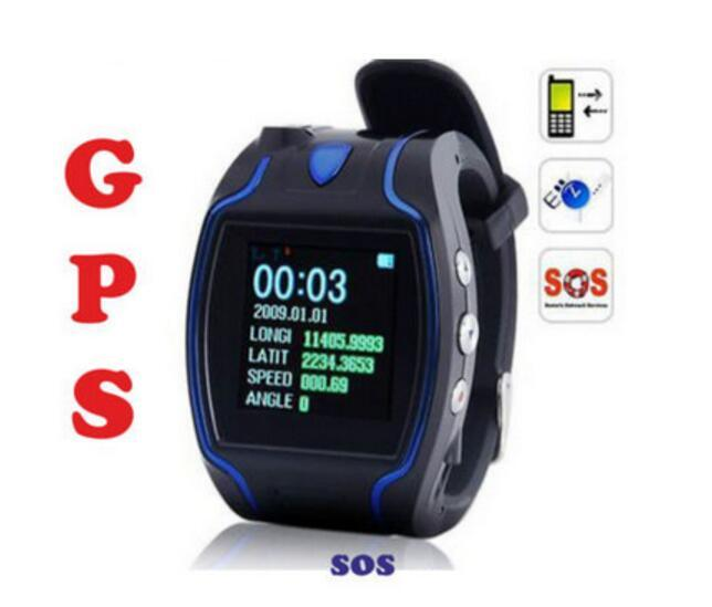 2.5 Inch Layar Jam Tangan Smart Watch, Micro Gelang Chip GPS Tracker GPS101 for Children and Adult