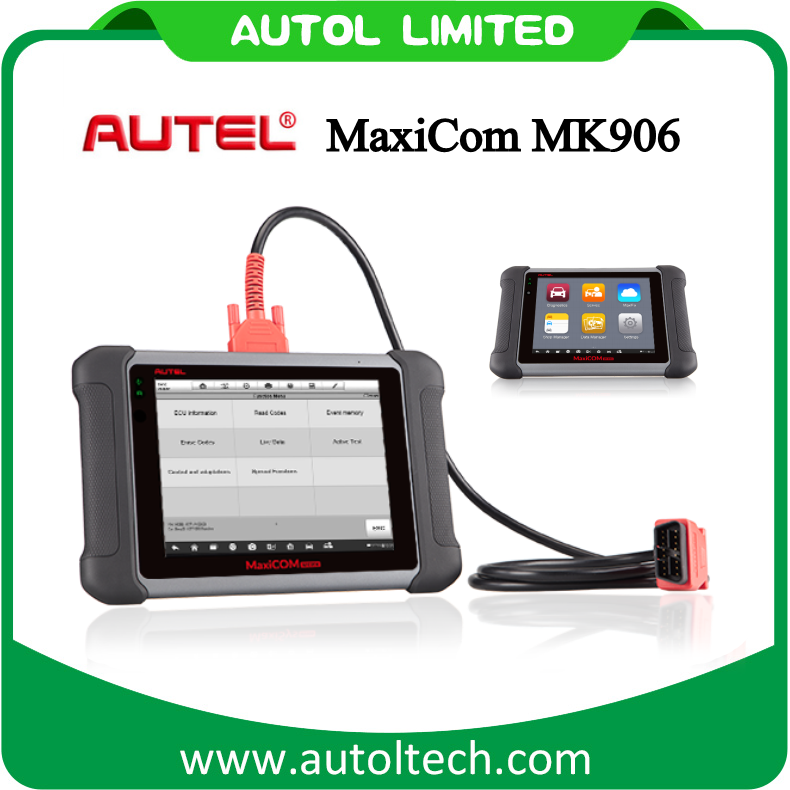2017 New Best Automotive Diagnostic Scanner Mk906 WiFi Update Autel Maxicom Mk906 Mk 906 Autel Car Diagnostic Tool Same Function as Ms906