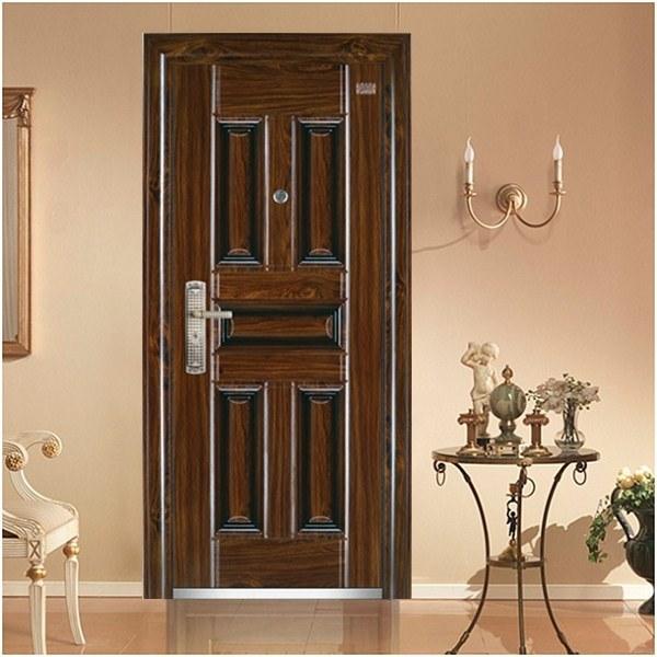 Modern Main Entrance Security Steel Door