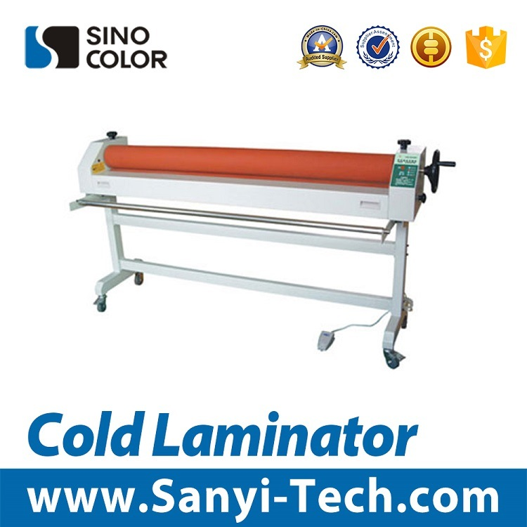Electric Cold&Hot Laminator Machine, Simple Electric Cold Laminator 1600