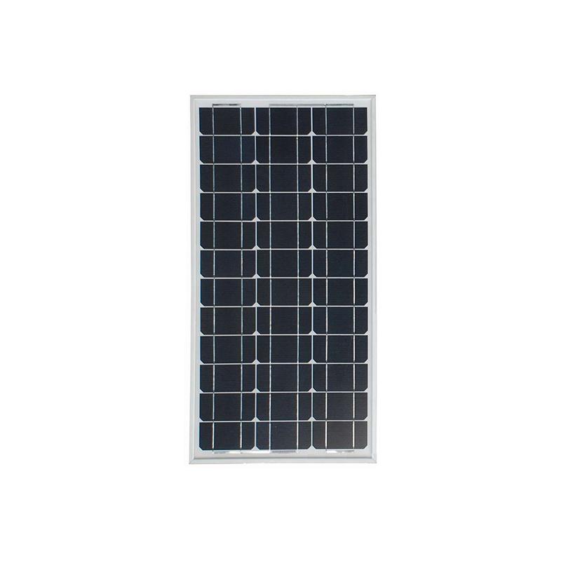 Monocrystal Solar Panel 50W on Roof or Solar Street Light