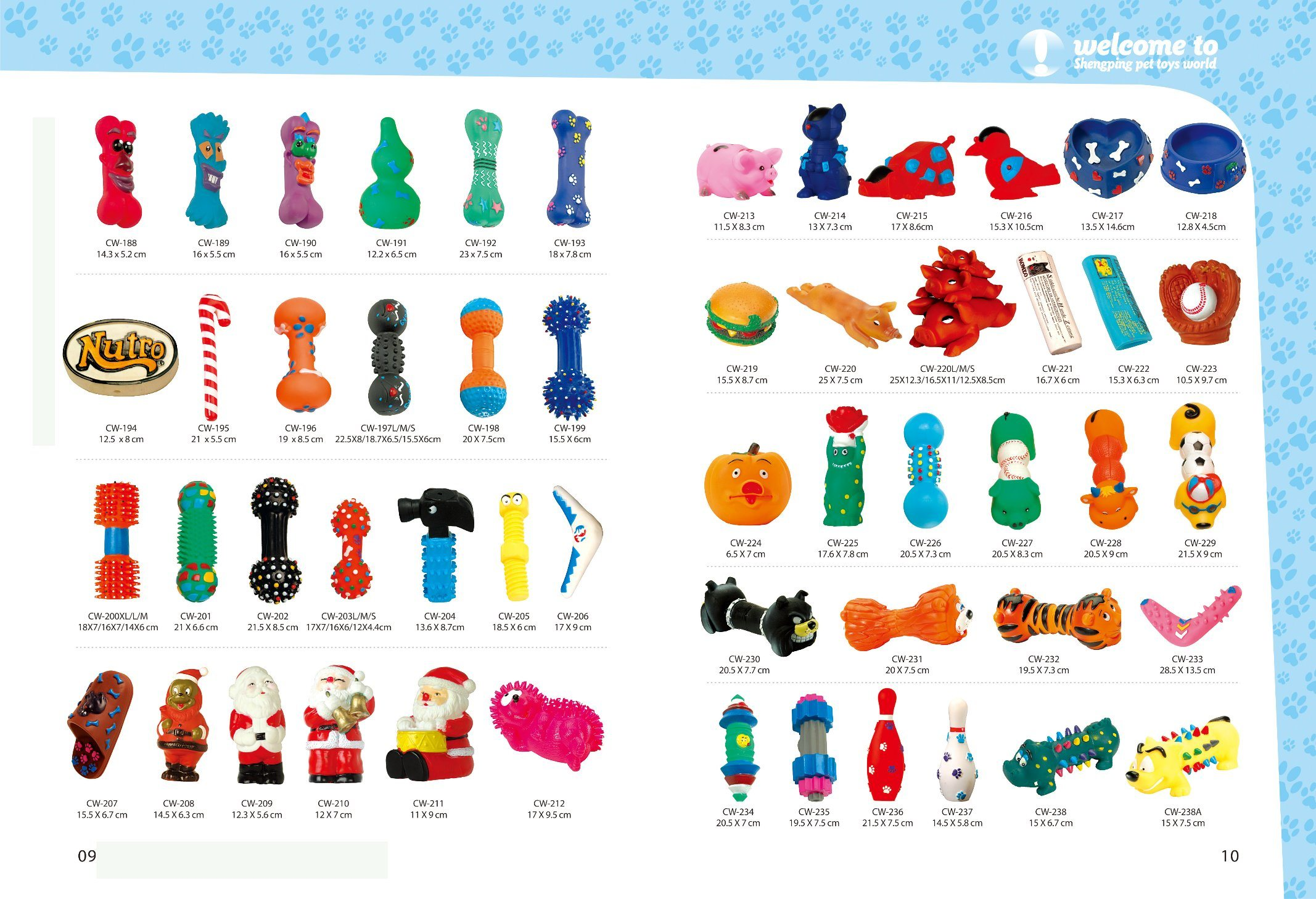 Dog Toy Vinyl Toy Cw-417 Pet Products