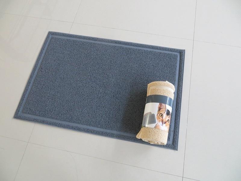 Factory Produce Big Size PVC Pet Mat Cat Litter Mat