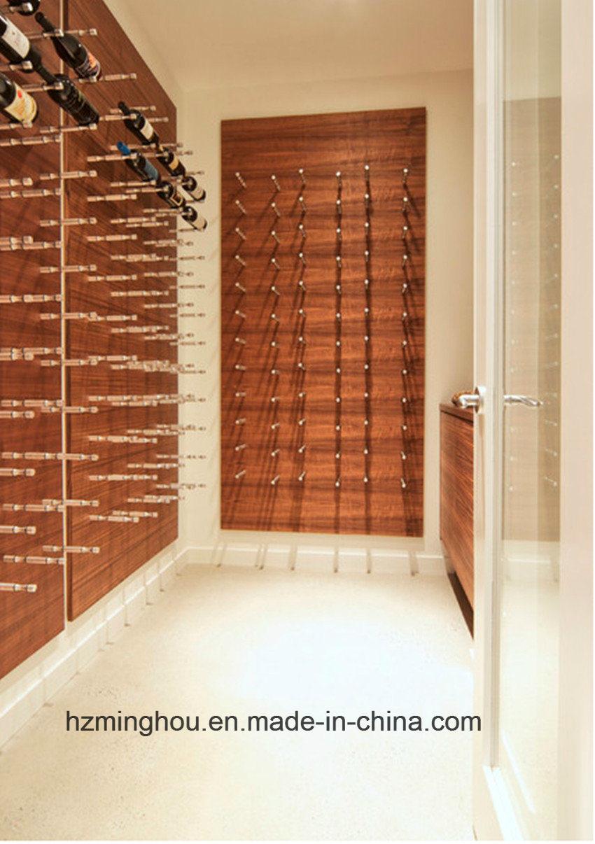 New Alumium Wall Amount Wine Racks Holder 1-3 Bottles