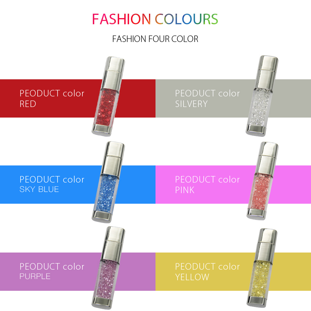 Crystal Diamond Pendrive USB Flash Disk Drive for Gift