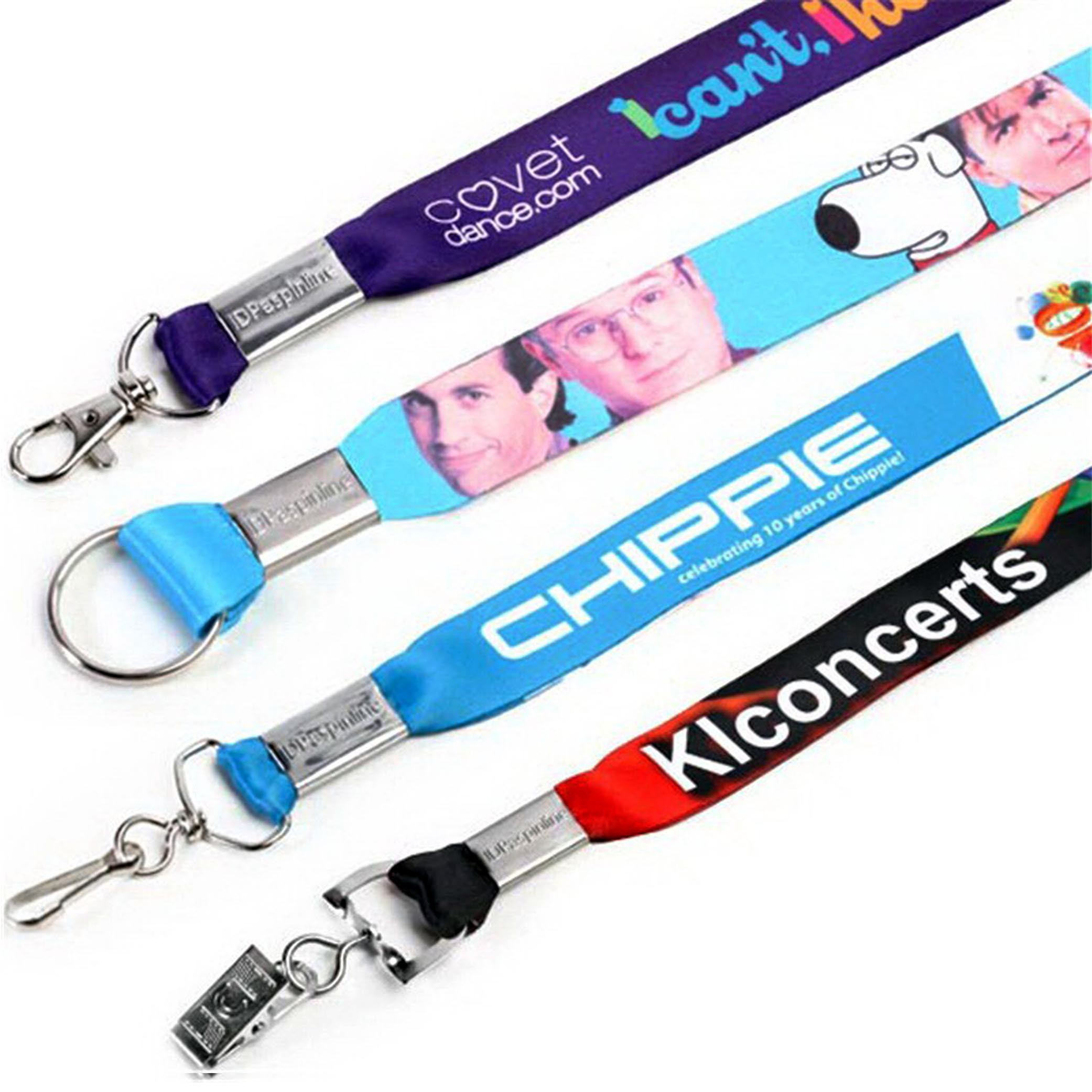 Dye Sublimation Heat Transfer Lanyard with Full Color